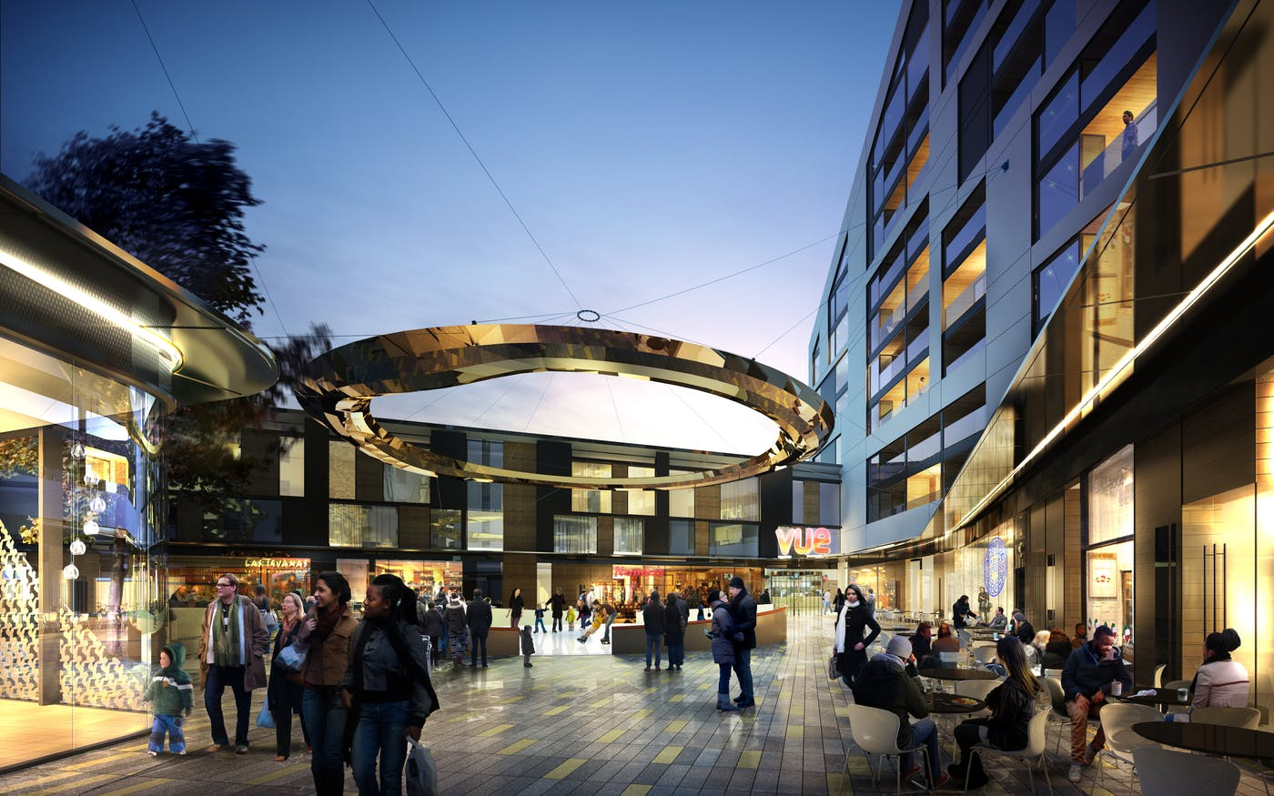 St Marks Square Bromley Featured Development Complete