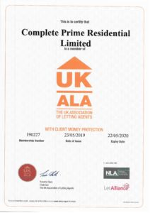 Client Money Protection Certificate